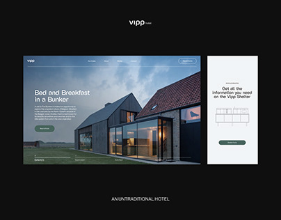 Vipp Hotel - Website