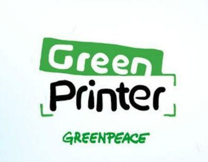 GreenPrinter by GreenPeace. Fakestival 2012 Bronze