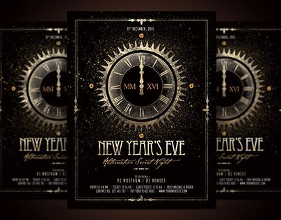 NYE - New Year Alternative Flyer Template