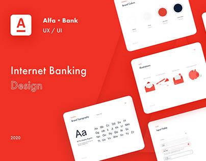 UX/UI Design Alfa bank