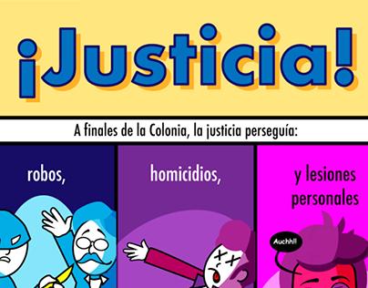 Infografía ¡Justicia!