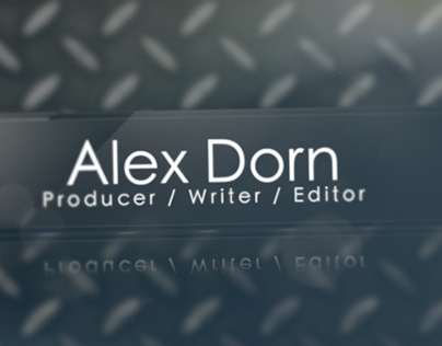 Alex Dorn Sample Work