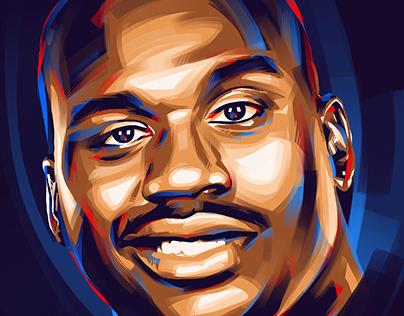 NBA - Procreate portraits