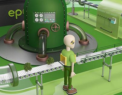 EPM Innova feria de emprendimiento Ecológico