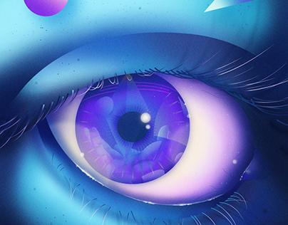 "Sci-fi Illustrations - ""Crystal"" Vol 1"
