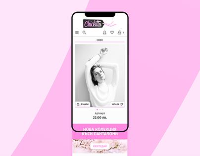 Chickitta   Desktop and Mobile Web Design