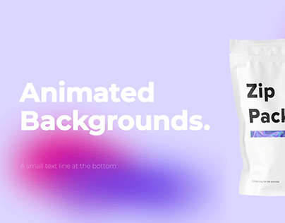 Animated Backgrounds & Titles