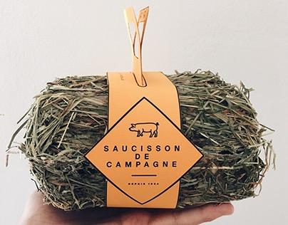 SAUCISSON DE CAMPAGNE