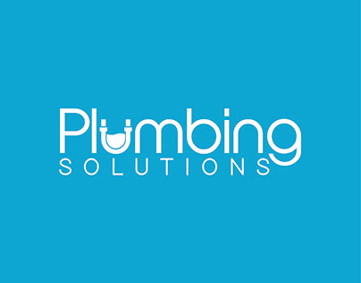 Logo Design Plumbing Solutions