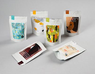 Cup in Cup — дизайн упаковки чая