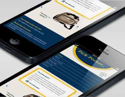 Pick-Pocket Responsive Website