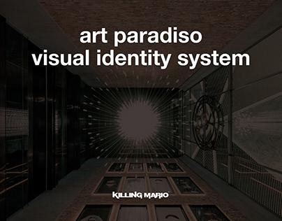 Art paradiso visual identity