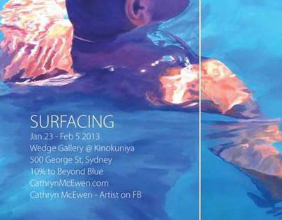 Surfacing @ Wedge Gallery @Kinokuniya Ja 23 - Fe 5 2013