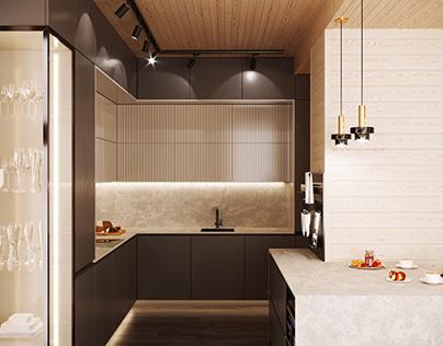 SPA house Kitchen