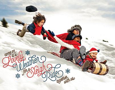 "Christmas Card ""Sleigh Ride"""