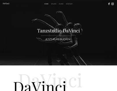 Website Preview - Dance School