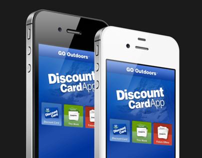 Discount Card iPhone App