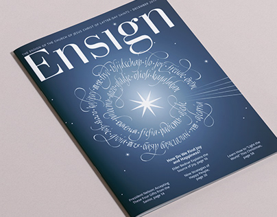 Calligraphy - Cover Mag - Ensign