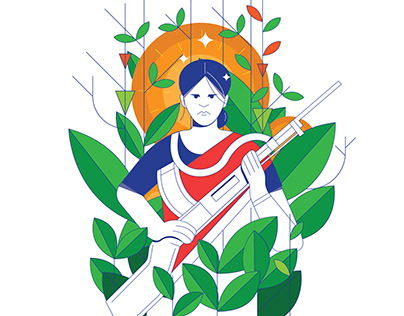 Woman Freedom Fighter of Bangladesh