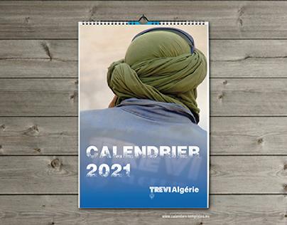Calendrier  Couverture 2021