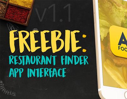 Freebie: iOS Restaurant Finder App