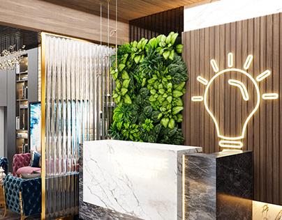 Modern Real Estate Development Office In KSA