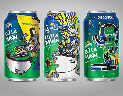 Google + Sprite - Design a Can