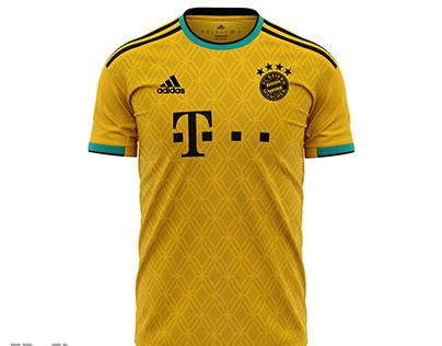 Concept Bayern Thrid Jersey2020-2021