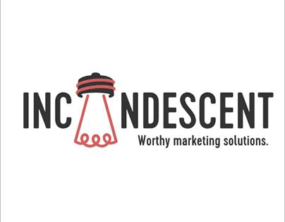 INCANDESCENT: Marketing agency rebranding
