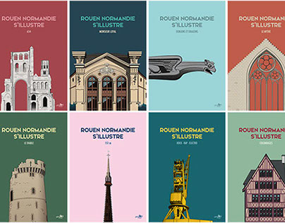 Rouen Normandie s'illustre - Illustrations