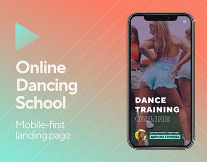 Online school for dancers