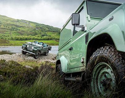 Land Rover Heritage Defender