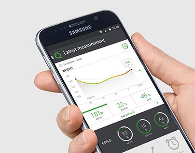 Qardio Android Prototype