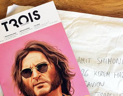 Trois Couleurs Cover Magazine