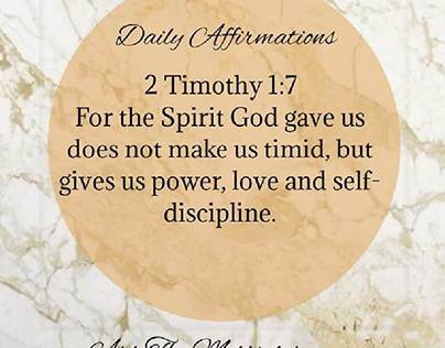 Strength, Daily Affirmations