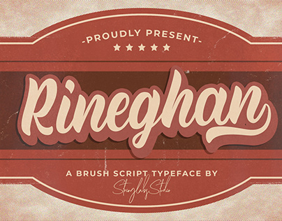 Rineghan - Bold Script Font