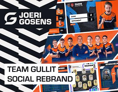 Team Gullit - Social Rebrand