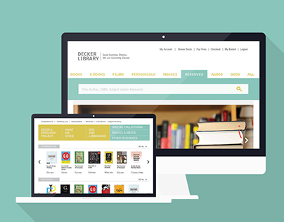 Decker Library Redesign