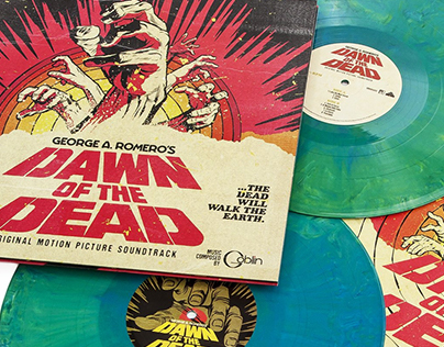 George A. Romero's Dawn of the Dead OST Vinyl 2xLP