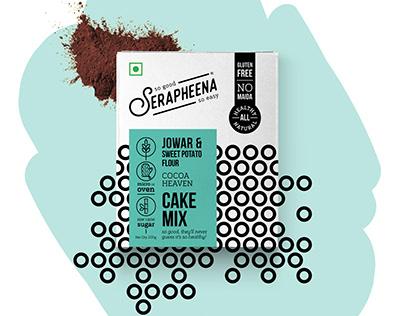 serapheena : packaging for cake mixes