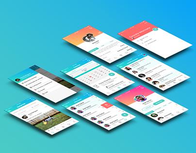 Social Pet App