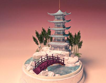Miniatures of Japan