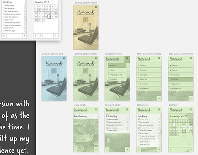 Student Project 1: Design UI for my first mobile app