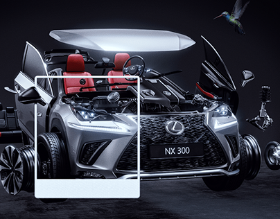 Lexus NX 300 Exploded View