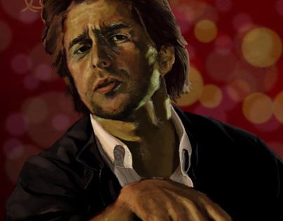 Sam Rockwell Portrait