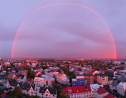 Aerials of Iceland