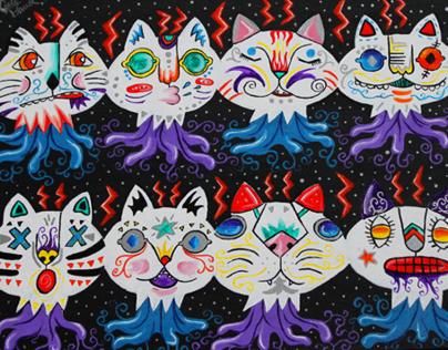 Cat Heads in Space |  2011