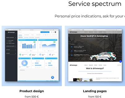 Personal website of UX Designer