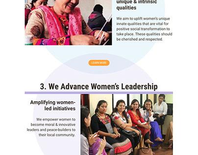 NGO Project 1: Global Peace Women