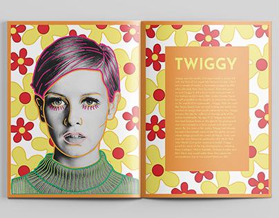 """MODA"" 60's Style Magazine"